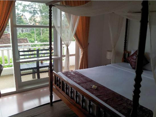 Frangipani Villa Hotel - Boutique Hotel In Siem Reap deluxe double room with balcony