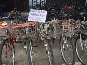how much rent bikes laos