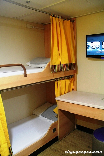 Cabin Room in the Manila to Boracay Ferry