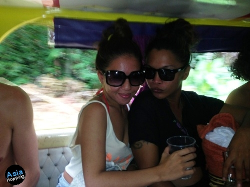 Jeepney Ride to the Manic Monkey Boracay Jungle Pool Party