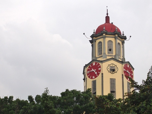 Manila City Hall Clock Tower Close-Up