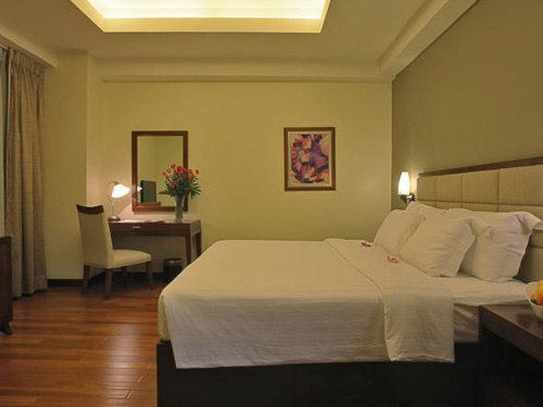 Armada Hotel Manila double bed