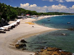 good beach near manila