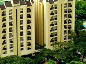 preview Somerset Olympia Makati Manila Hotel exterior