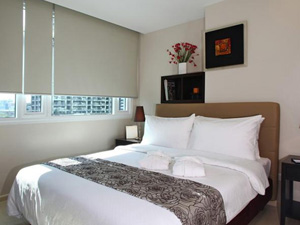 preview The Exchange Regency Residence Hotel Manila Ortigas master bedroom suite