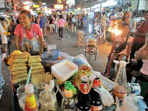 is street food safe southeast asia