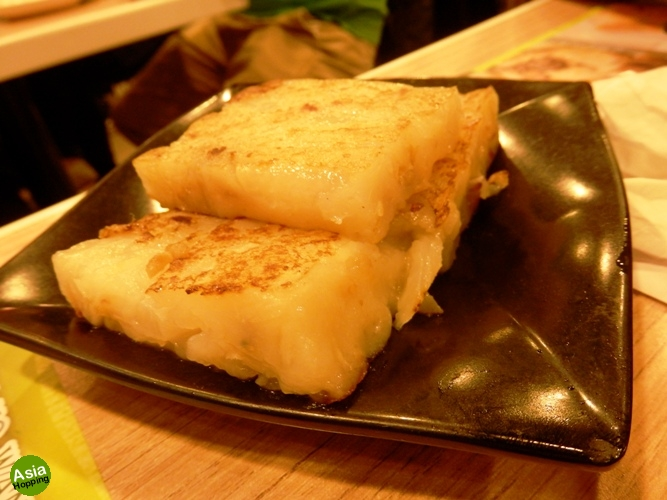 pan fried turnip cake tim ho wan