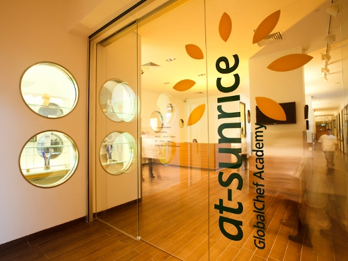 at-Sunrice Global Chef Academy Eastern Singapore Entrance