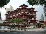 Buddha Tooth Relic Temple and Museum Singapore Chinatown Facade