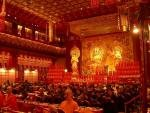 Buddha Tooth Relic Temple and Museum Singapore Chinatown Interior