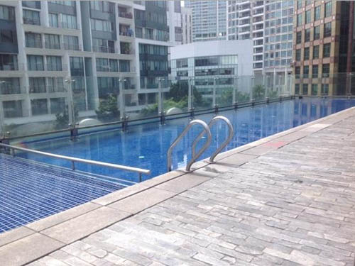 Gallery Hotel Singapore Clarke Quay Riverside swimming pool
