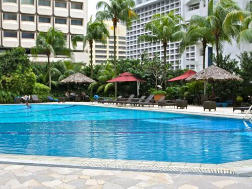 Orchard Hotel Singapore Orchard Road pool