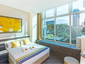 preview Hotel 81 Bugis Singapore deluxe double room