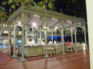 What's the best restaurant in Raffles Hotel