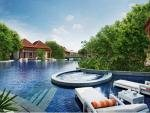 Resorts World Sentosa Beach Villas Singapore Free-Form Swimming Pool and Exclusive Dip Pool