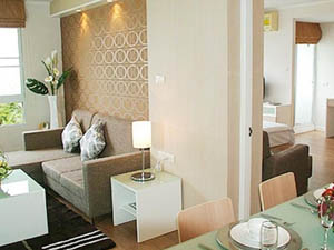 preview Area Residence Sathorn Hotel Silom 2 bedroom suite