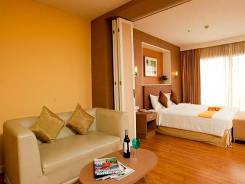 The Monmanee Travel & Lifestyle Hotel Bangkok guest room