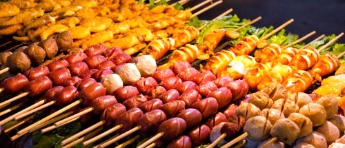 barbecue - khao san street food bangkok