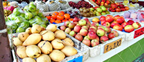 fruits - khao san street food bangkok
